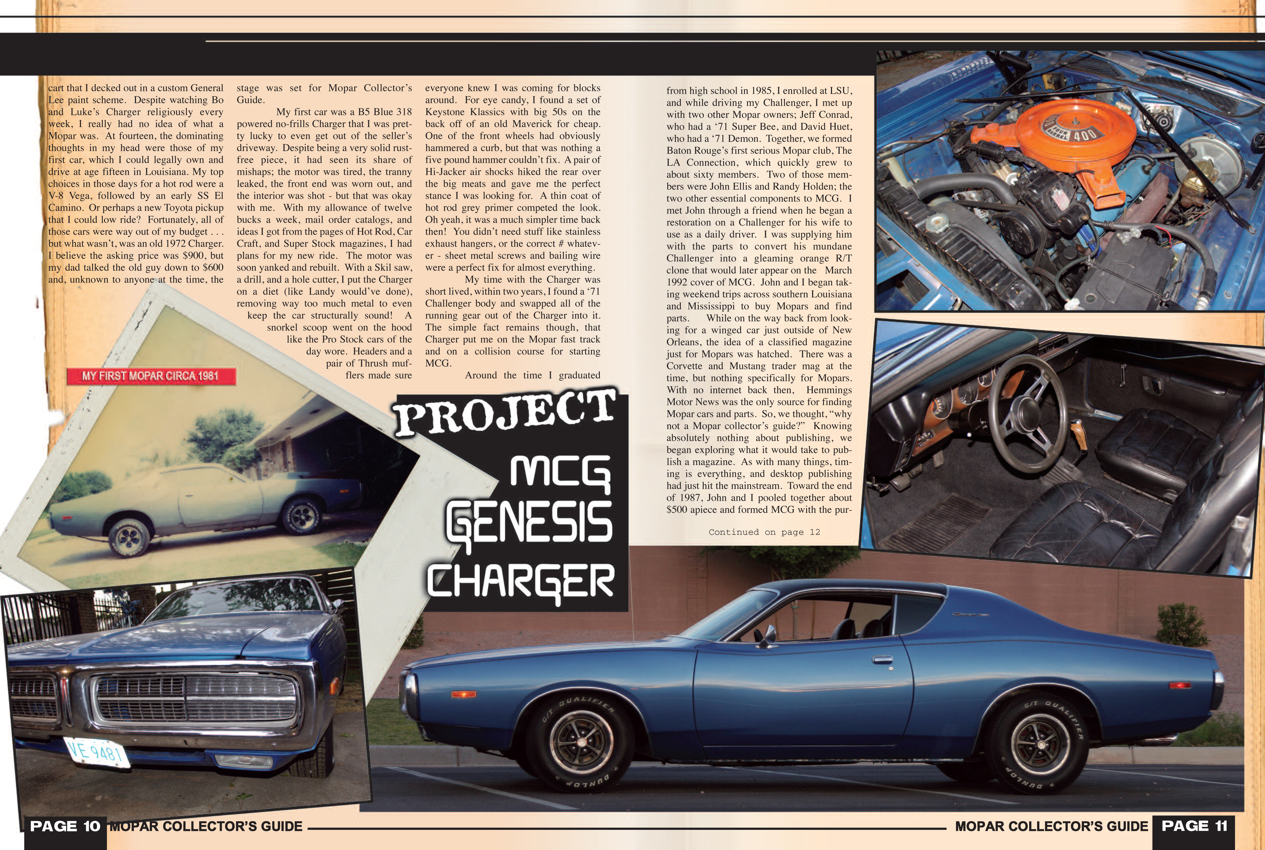 Our Story - Mopar Collector\'s Guide Magazine