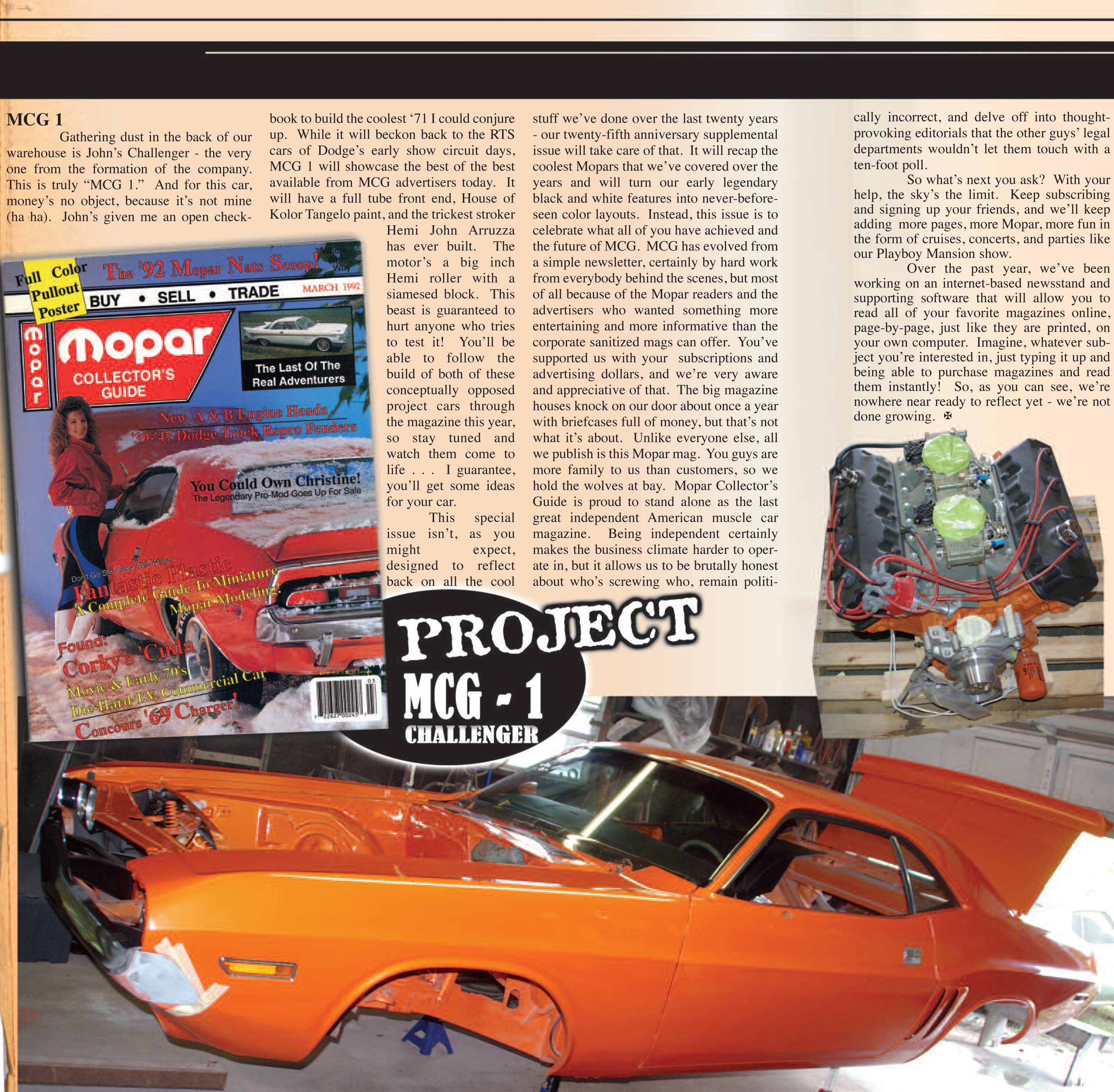 Our Story - Mopar Collector's Guide Magazine