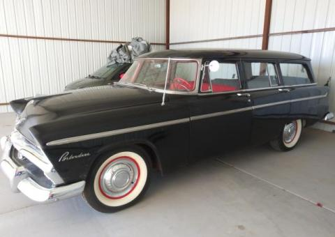 1955 Plymouth Belvedere Suburban 4 Dr Station Wagon