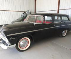 1955 Plymouth Belvedere Suburban 4 Dr Station Wagon - 1/4