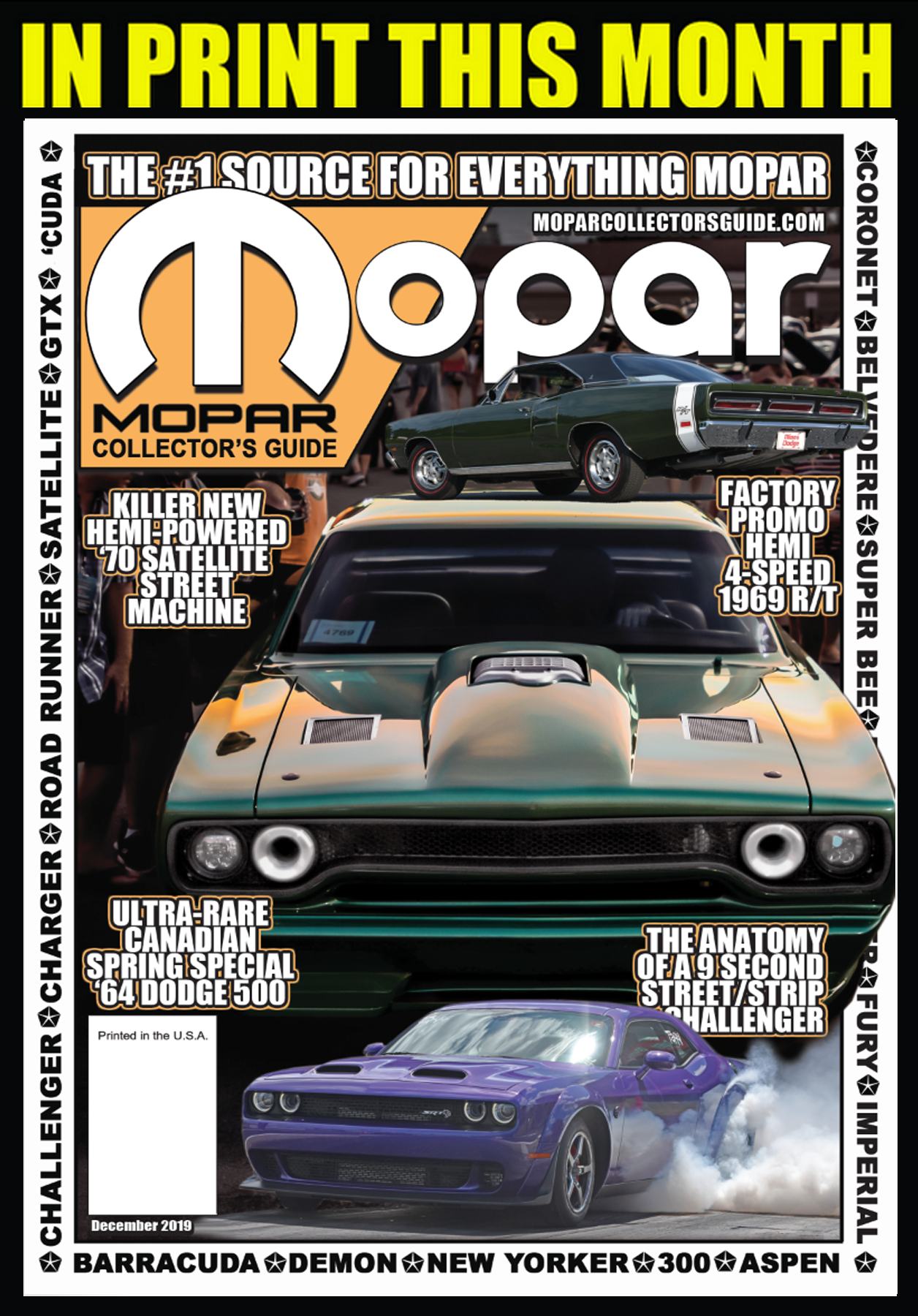 Mopar Collector's Guide Magazine