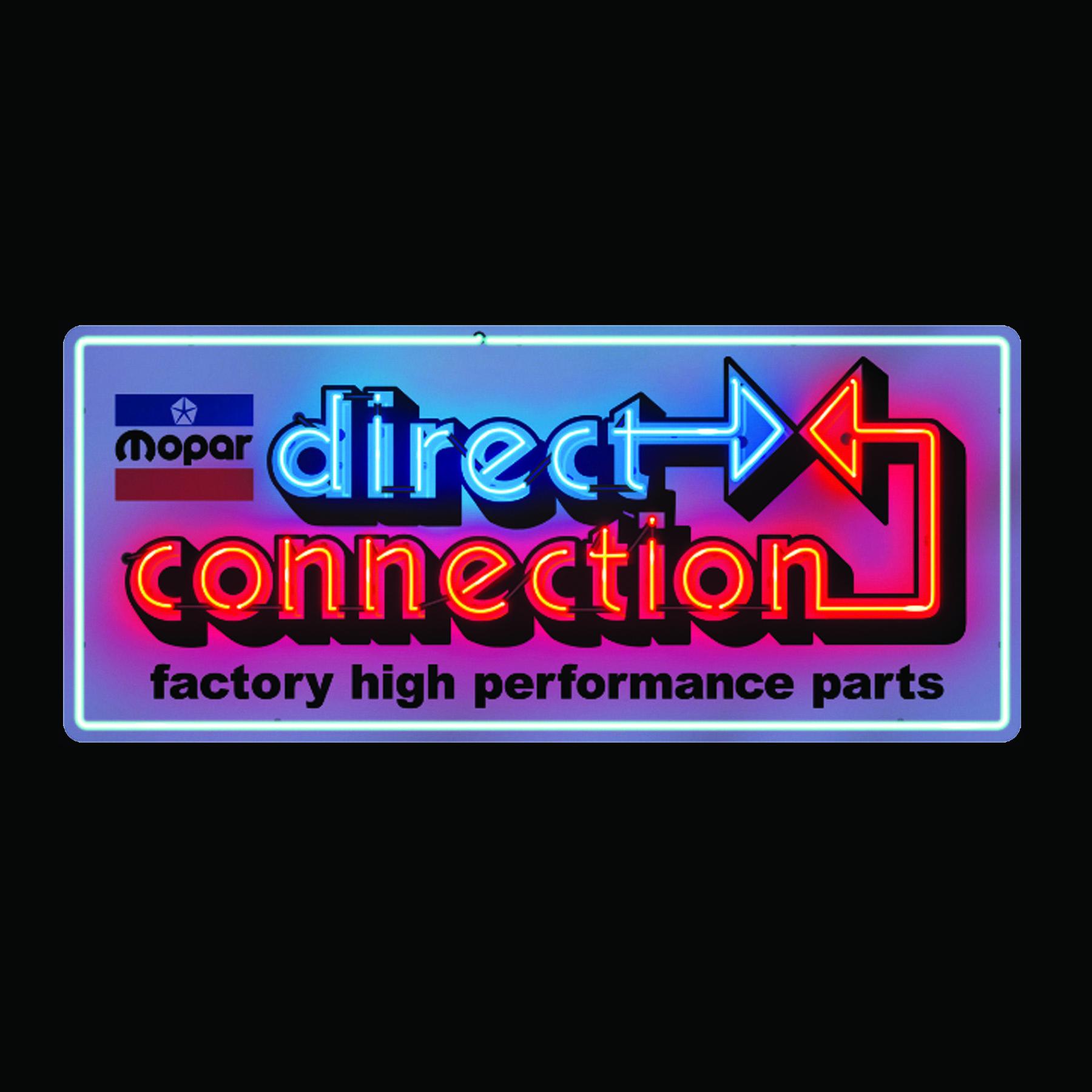 Merch Garage Art Dc Neon Metal Garage Art Sign
